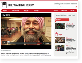 The Waiting Room Website